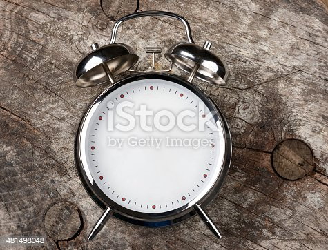 Now, blank clock for text