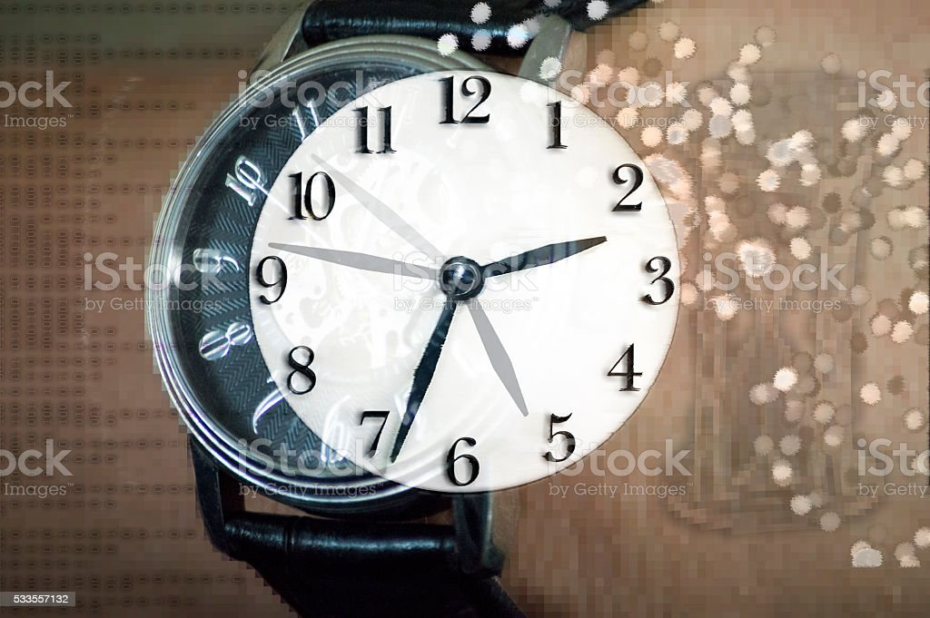Clock & Time stock photo