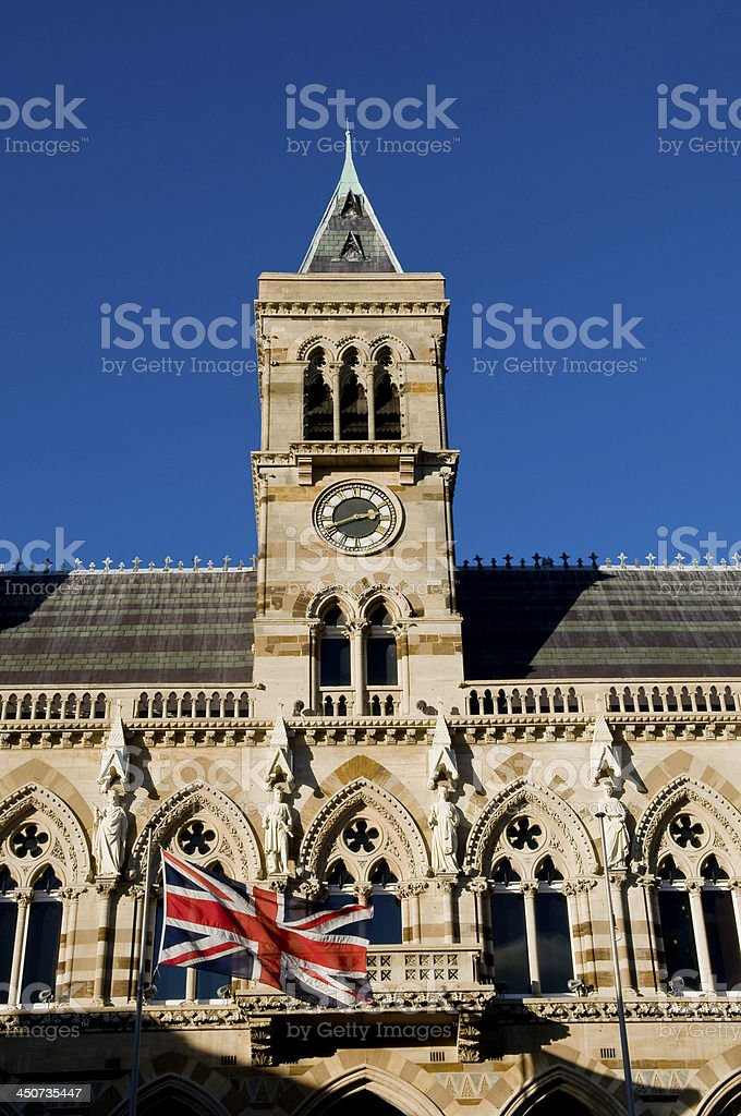 Clock Tower Guildhall stock photo