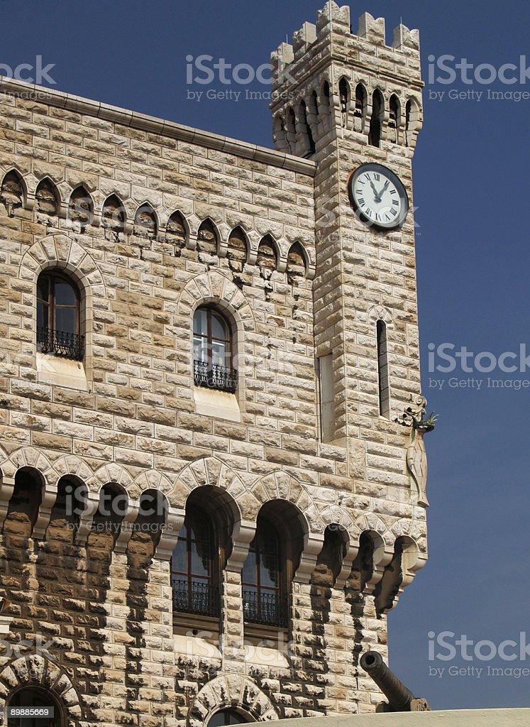 Uhrturm, Monaco Lizenzfreies stock-foto