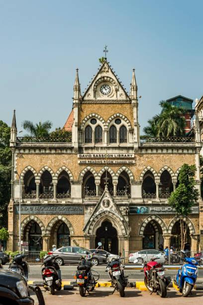 Clock Tower on David Sassoon Library-Kala Ghoda Mumbai,