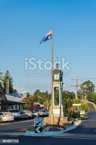 Anzac Clock Tower On Main Street In Foster In South Gippsland Stock Photo & More Pictures of Australia
