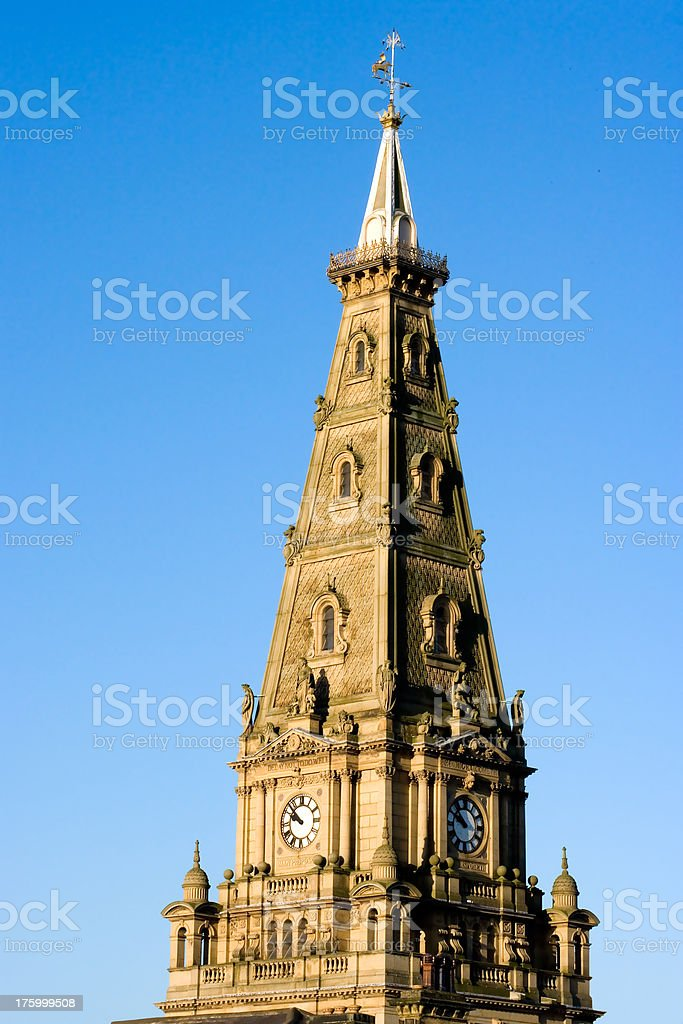 Clock Tower royalty-free stock photo