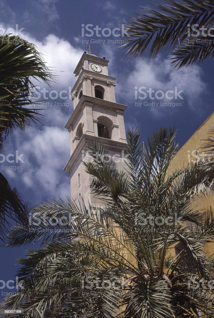 Clock Tower royaltyfri bildbanksbilder