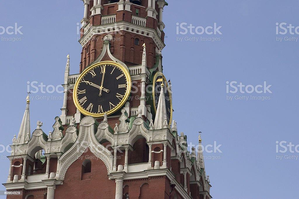 Clock tower royalty-free stock photo