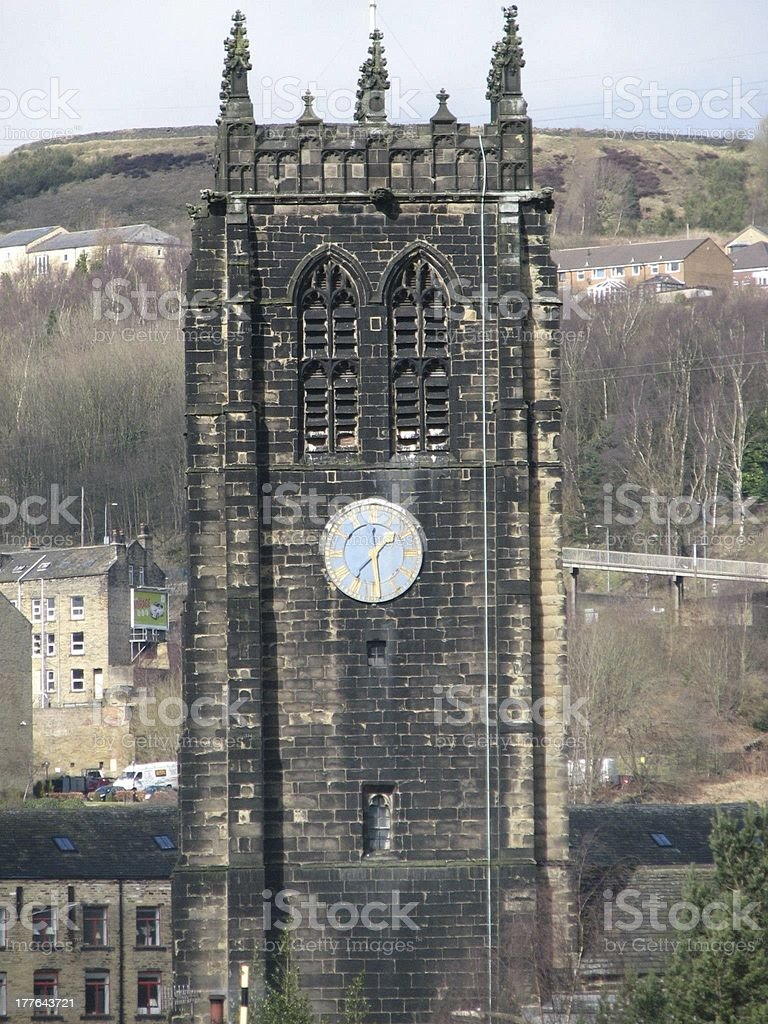 Clock Tower View royalty-free stock photo