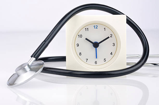 royalty free stethoscope with alarm clock pictures images and stock