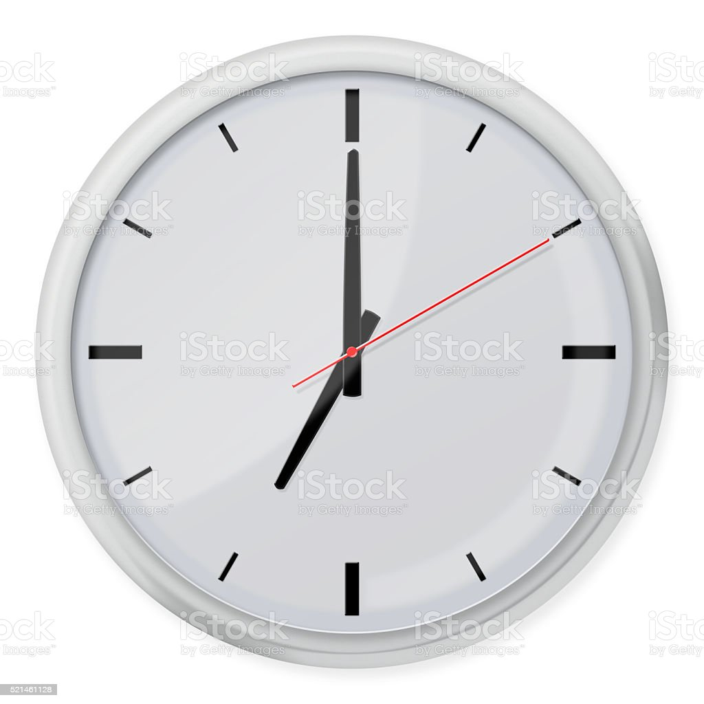 Clock Without Numbers With Shadows Stock Photo More Pictures Of