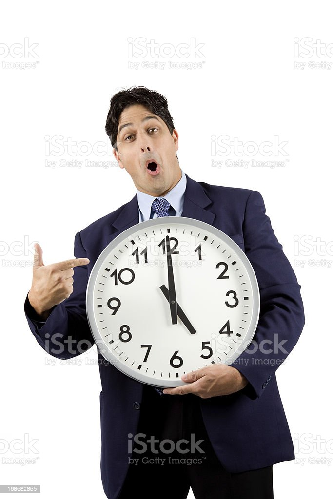 Clock Work royalty-free stock photo