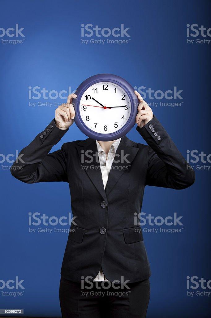 Clockface royalty-free stock photo