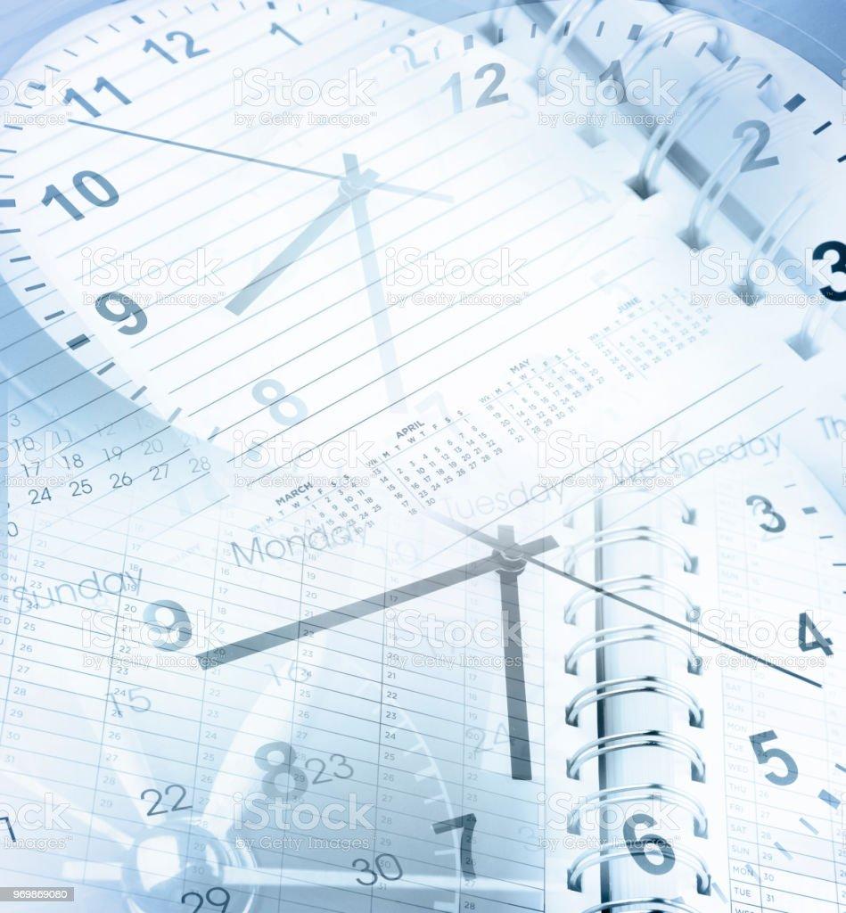 Uhren und Kalender – Foto