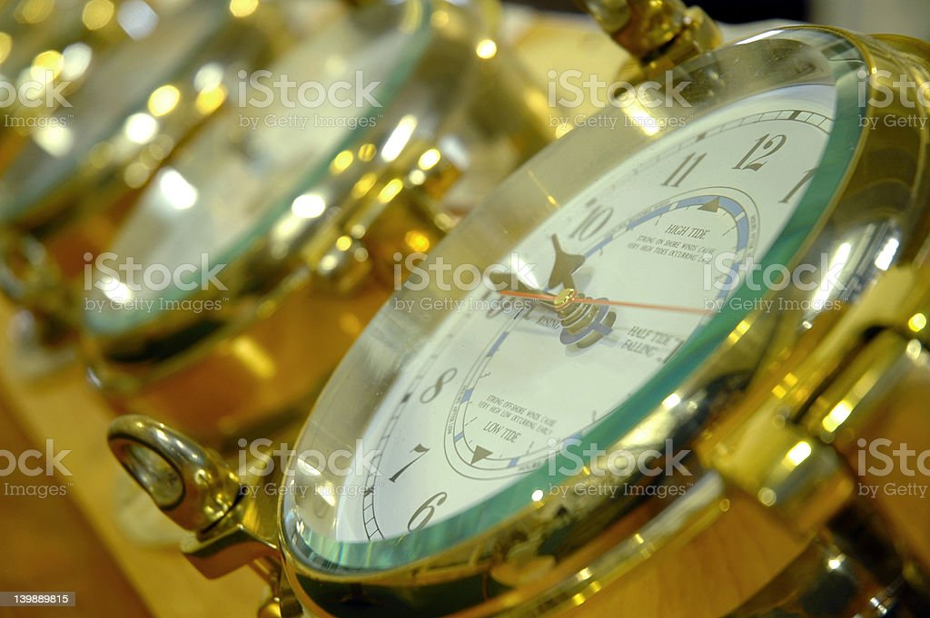 Clocks stock photo