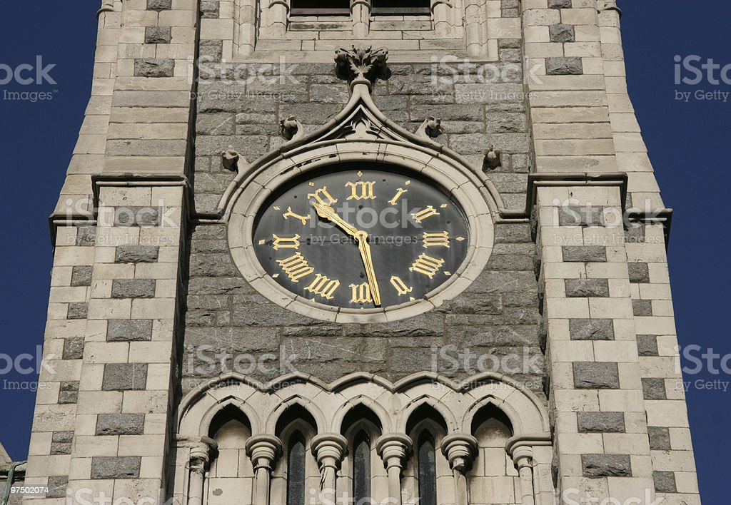 Clocktower royalty-free stock photo