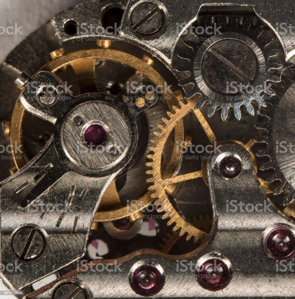 Clockwork eski makineyle ilgili seyretmek, yüksek çözünürlük ve detay - Royalty-free Ayarlamak Stok görsel
