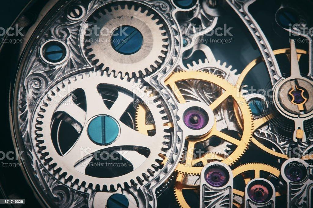 Clockwork: the inner mechanism of a watch