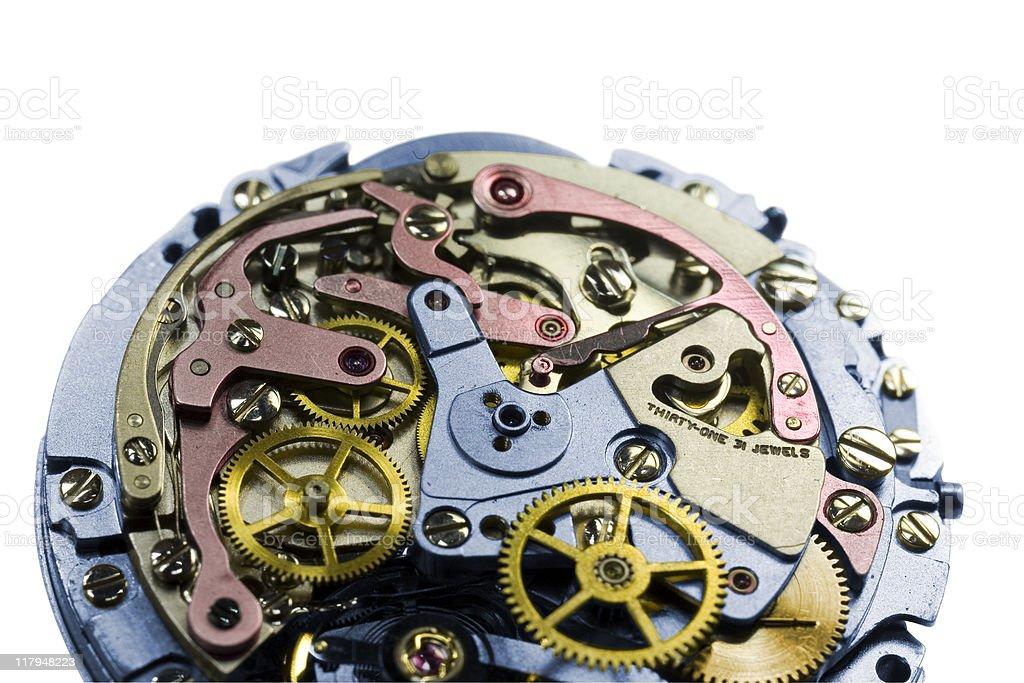 Clockworks stock photo