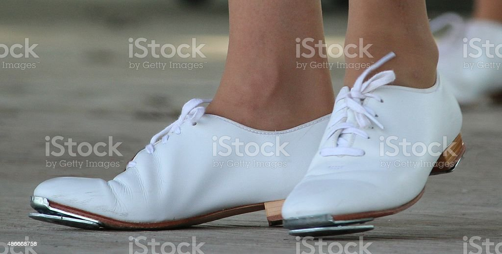 Clogging Tap Shoes stock photo