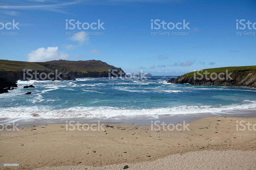 Clogher Bay, County Kerry, Eire. stock photo