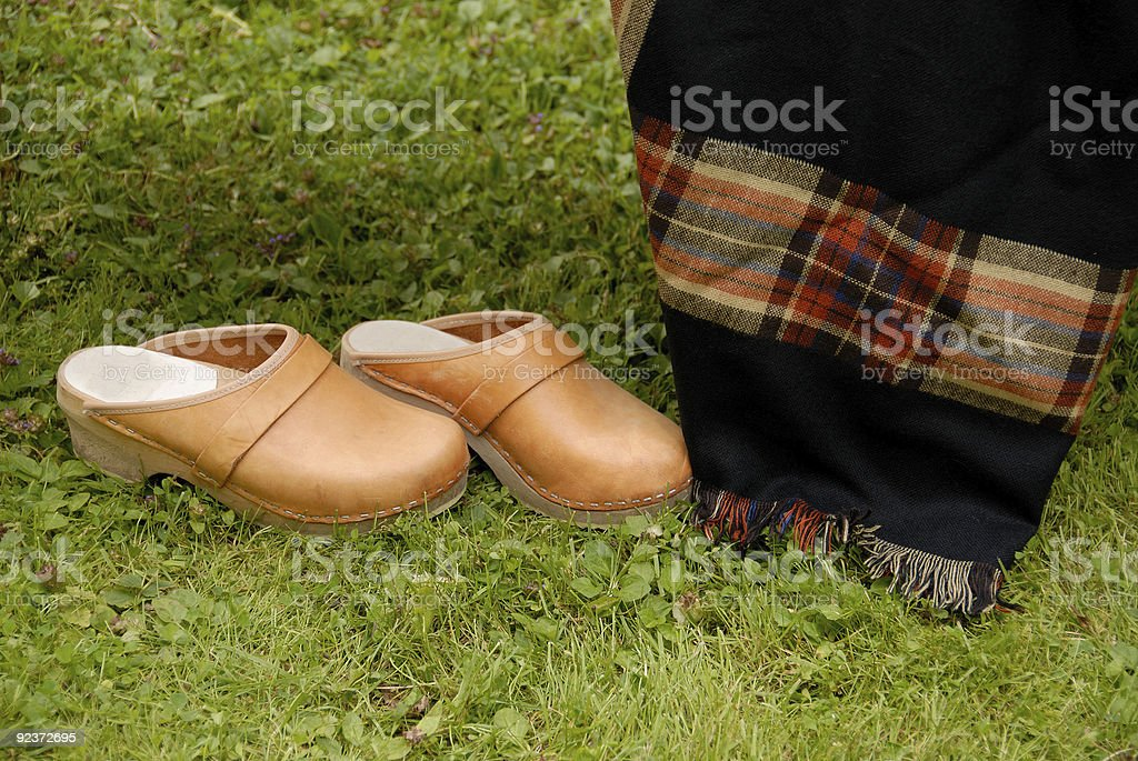 clogs royalty-free stock photo