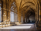 istock cloister of the Cathedral of LLeida, La Seu Vella, LLeida, Catalonia, Spain 1285324419