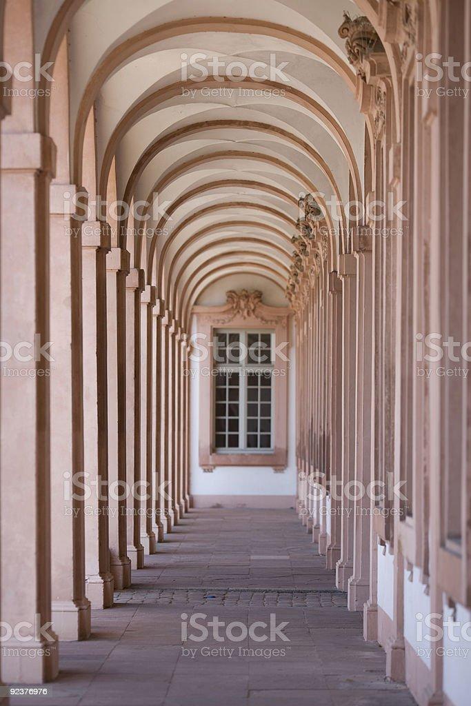cloister royalty-free stock photo