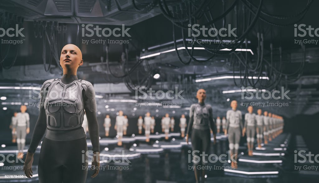 Clone storage stock photo