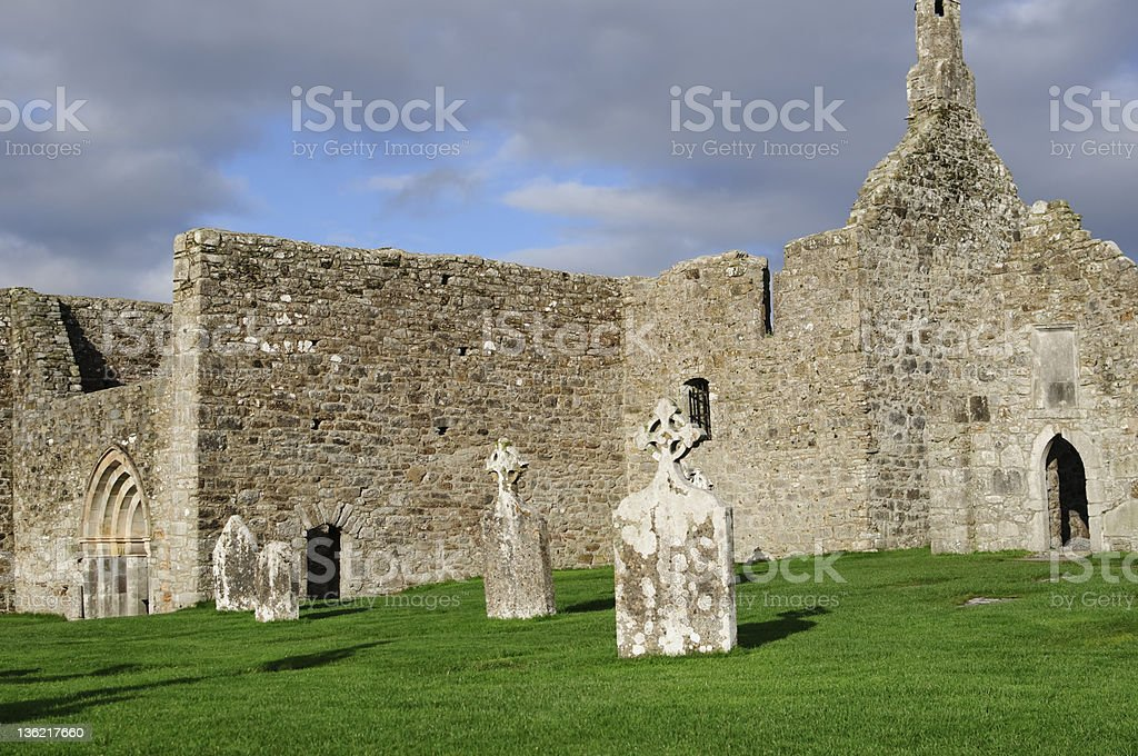 Clonmacnoise royalty-free stock photo