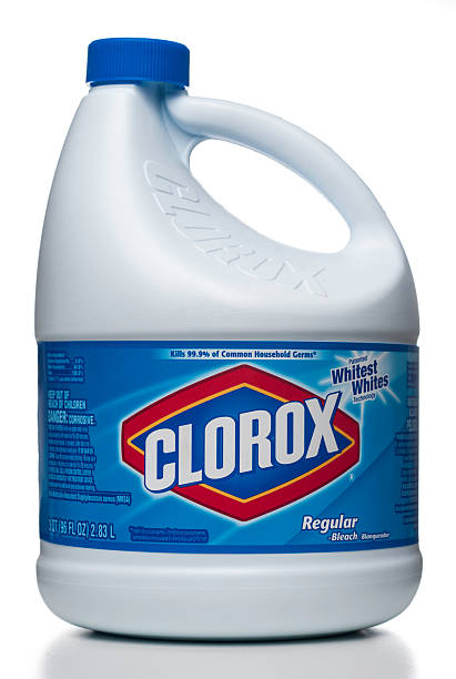 clorox regular-bleach - bleach stock pictures, royalty-free photos & images