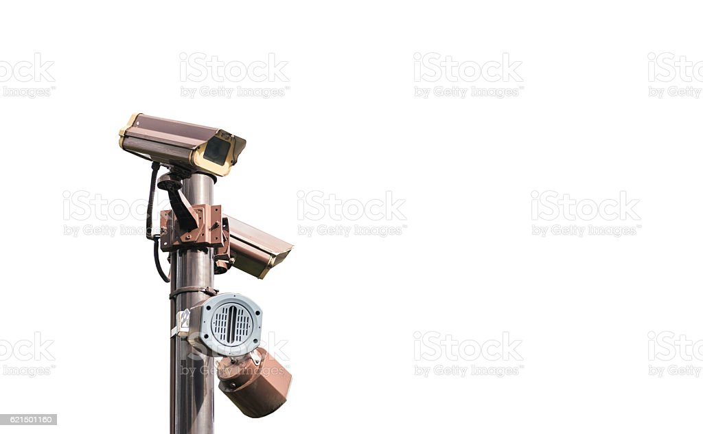 Close Circuit Television isolated foto stock royalty-free
