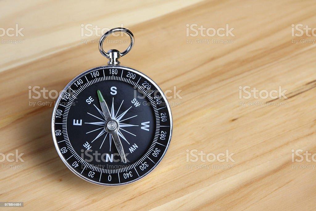 Close Compass royalty-free stock photo