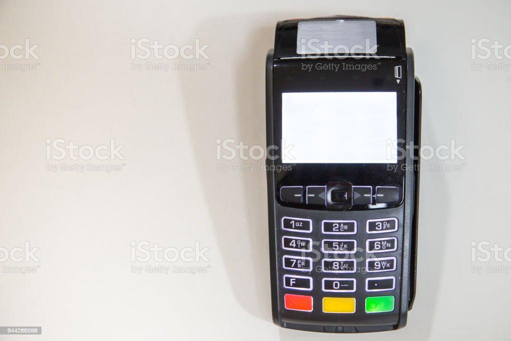 Close Credit Card Swiping Machine To Pay Credit Card Swipe Through