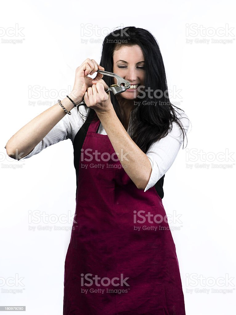 Close crunch royalty-free stock photo
