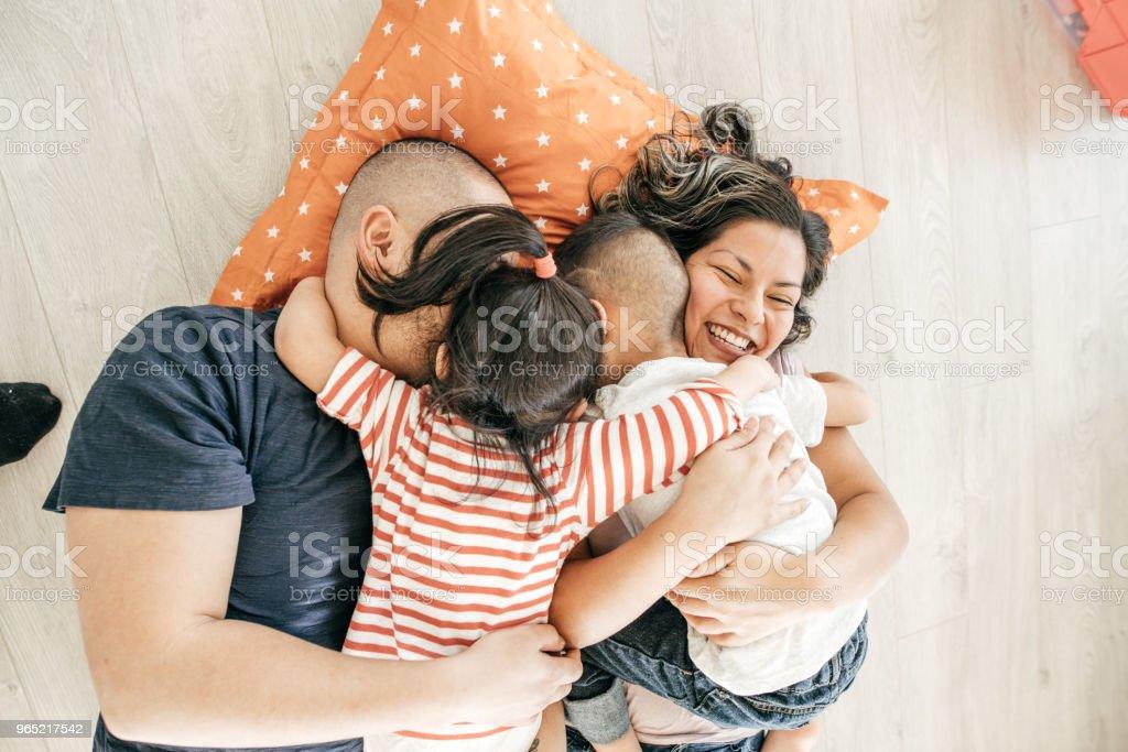 Close family ties zbiór zdjęć royalty-free