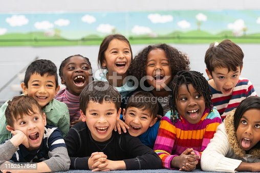 istock Close friends in class portrait 1152517648