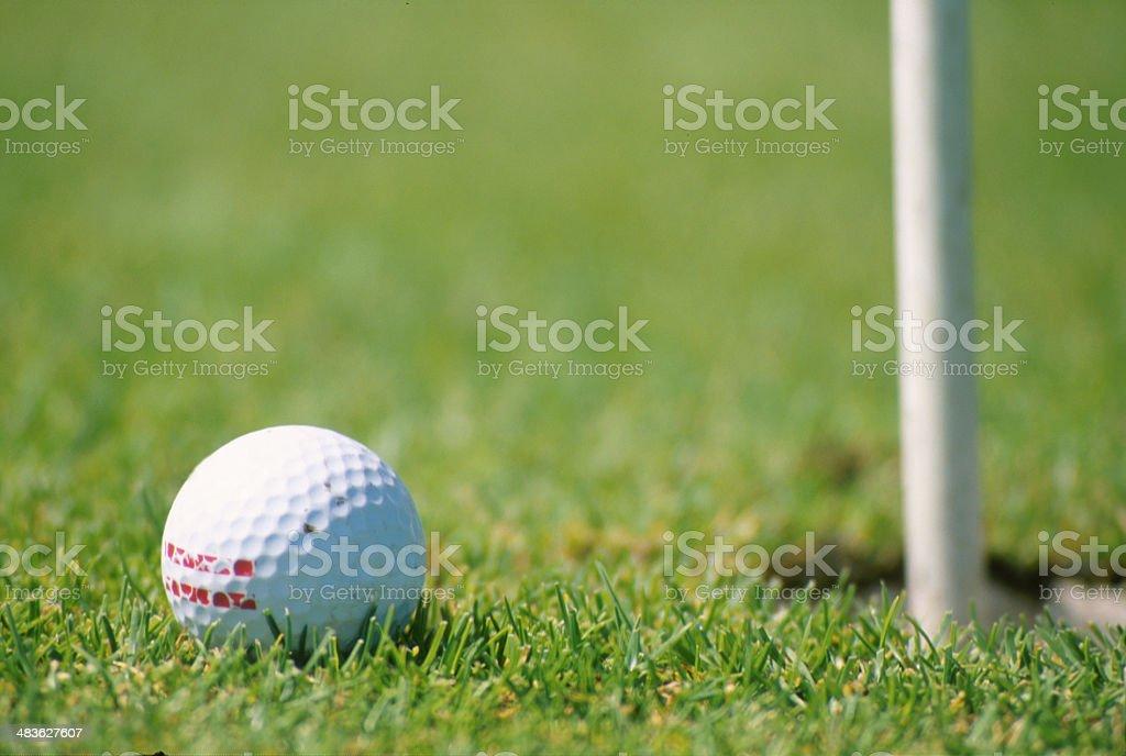 Close Golf royalty-free stock photo