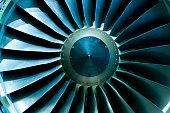 Turbines of a jet plane