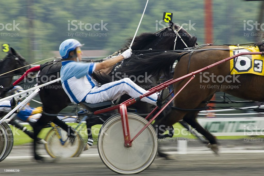close race call royalty-free stock photo