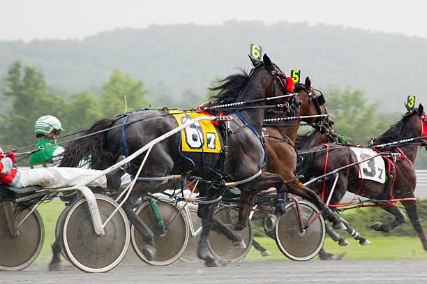 close race stock photo