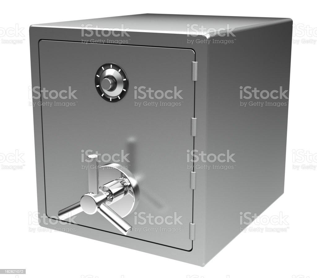Close Safe stock photo