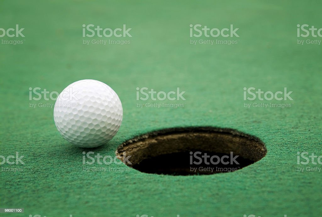 Close to hole royalty-free stock photo