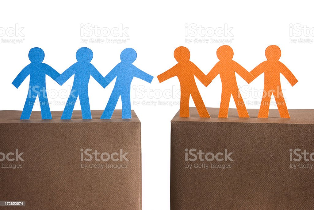Close to the deal royalty-free stock photo