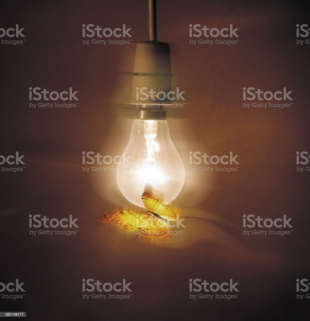 Close to the light stock photo