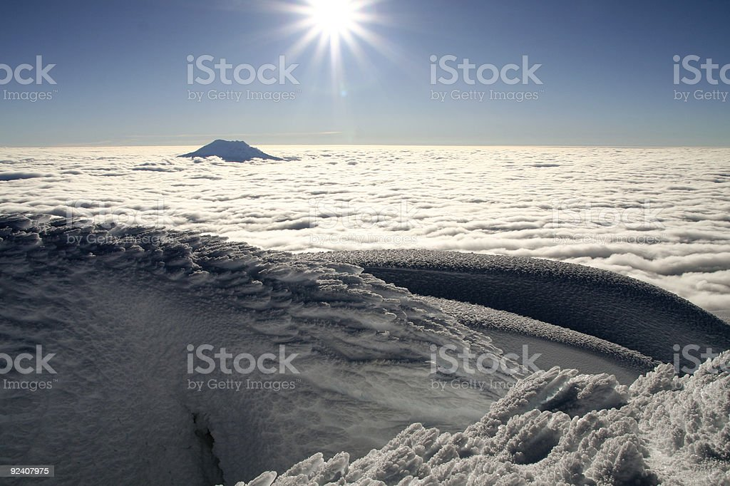 close to the sun royalty-free stock photo