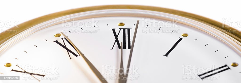 Close To Twelve O'Clock royalty-free stock photo