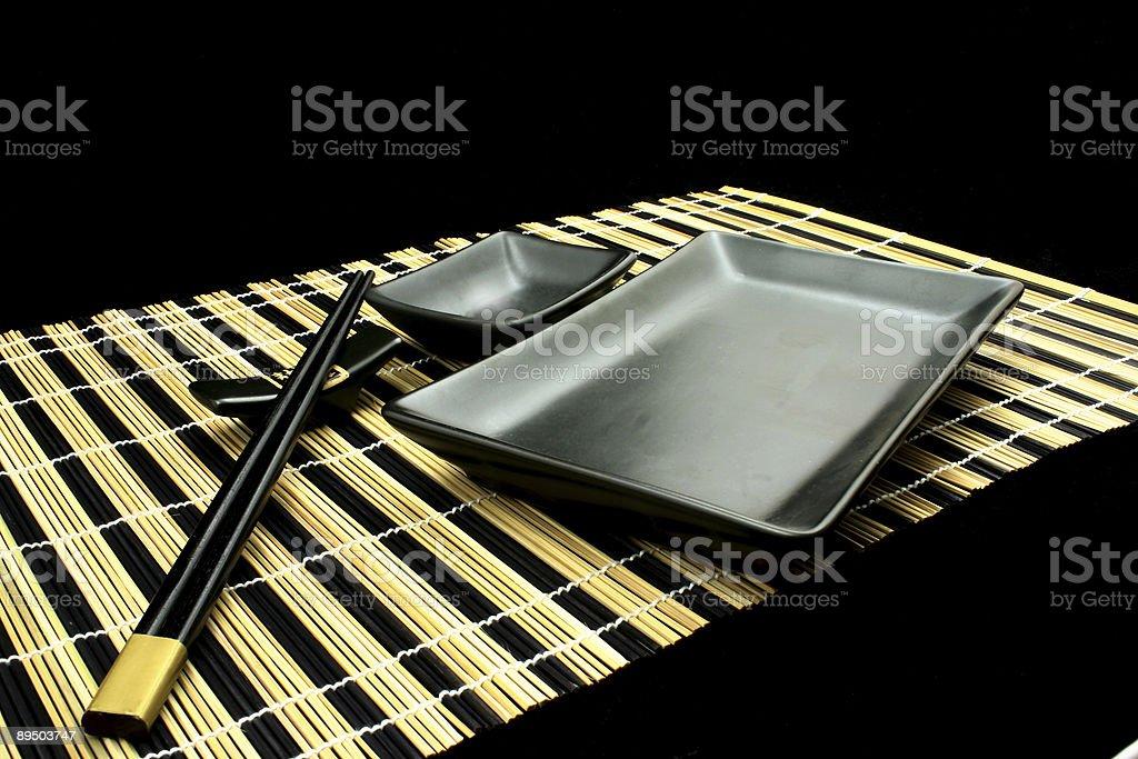 Close up at sushi royalty-free stock photo