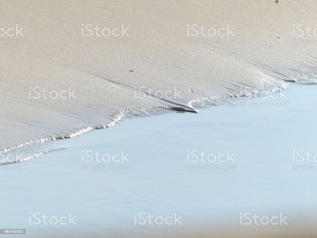 Close up beach royalty-free stock photo