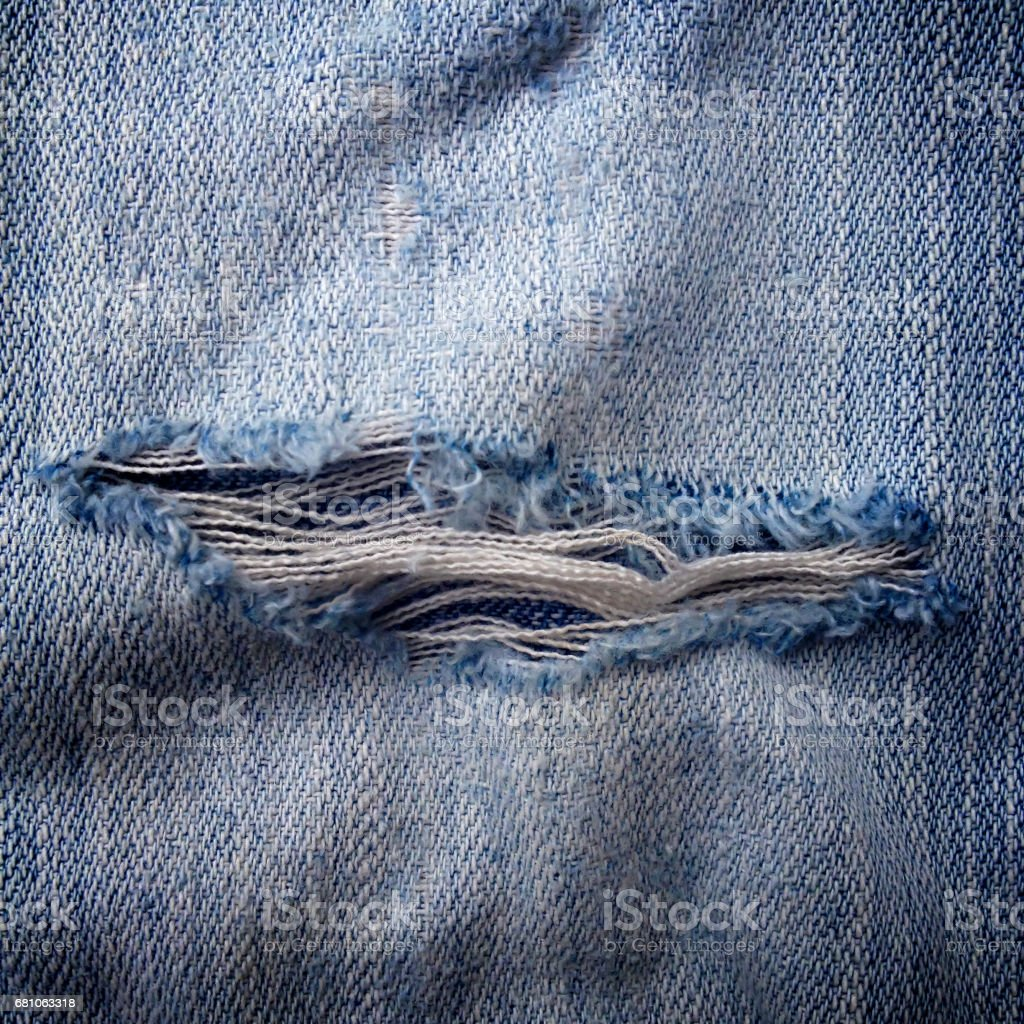 Close up blue jeans for texture background royalty-free stock photo