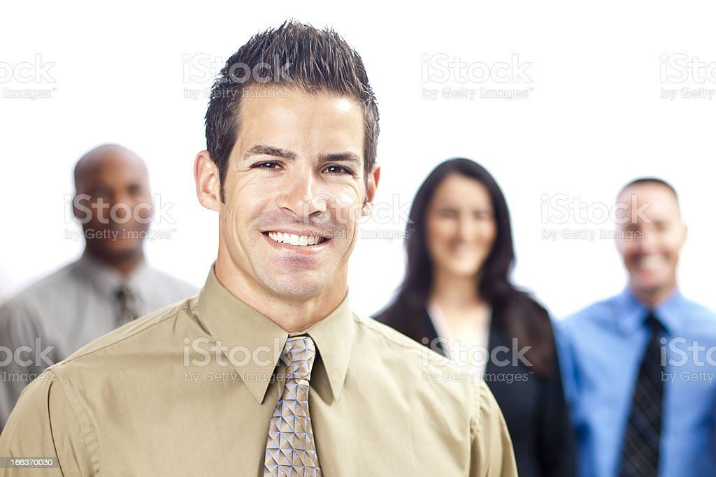 Close up Business Portrait royalty-free stock photo