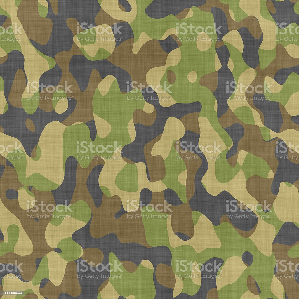 close up camouflage stock photo
