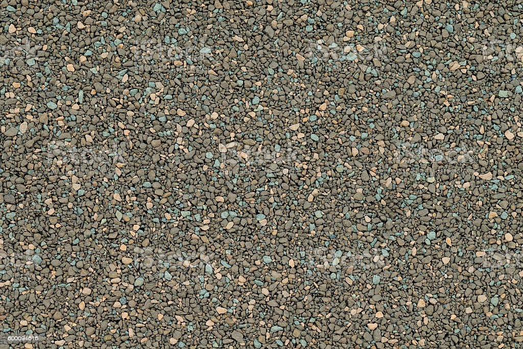 Close up detail of Granular Roofing Material. stock photo